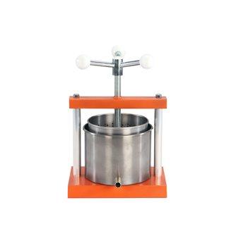 Pressoir de table inox à vis 4,2 litres