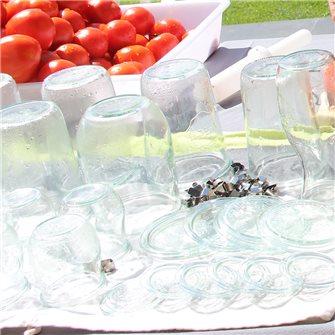 Comment nettoyer des bocaux en verre ?