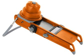 Mandoline inox et polycarbonate orange