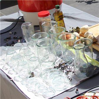 Tout savoir sur les bocaux, bouteilles, pots en verre