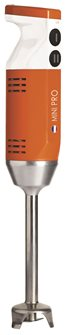 Mixeur plongeant Mini Pro orange 220 W 13 000 tours 4 embouts fabriqué en France