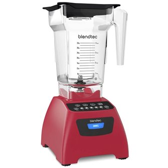 Power blender Blendtec Classic 575 rouge