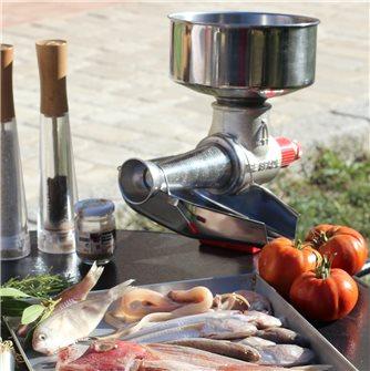 La soupe de poisson à l'épépineuse