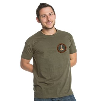 Tee shirt kaki L chasse bécasse de Bartavel Nature