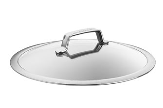 Couvercle verre et inox 30 cm TechnIQ SCANPAN