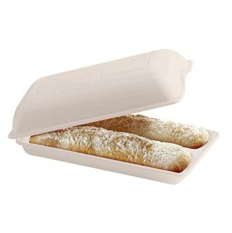 Moule à pain ciabatta en céramique blanc Lin Emile Henry