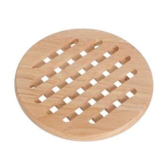 Dessous de plat rond en bois