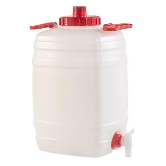 Tonnelet alimentaire rectangulaire 25 litres
